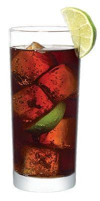 Libre cocktail kostka (cuba libre), darmowe kostka
