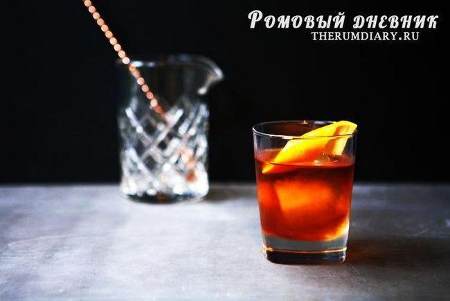 Klasična Cocktail Recept Old Fashion