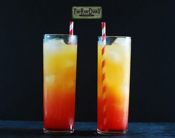 Koktajl Tequila Sunrise (tequila sunrise)