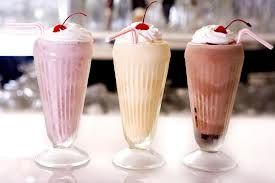 vanilkové Koktejly