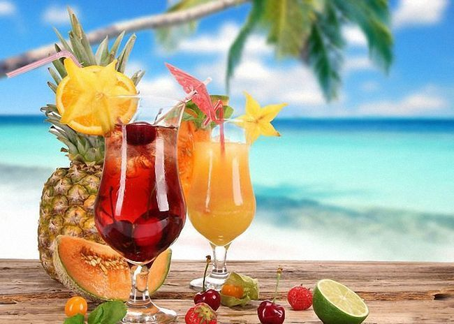 Hawaiian Cocktail mix