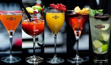 Cocktails martini kod kuće