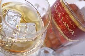 Красный виски (johnnie walker red label)