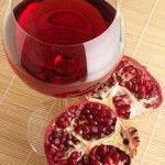 granátové jablko víno