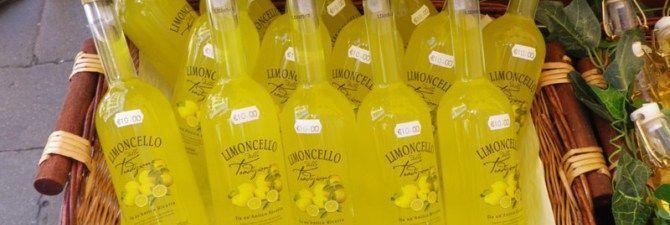 Ликер лимончелло – солнце в бокале