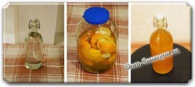 Лимонная и мандариновая настойка
