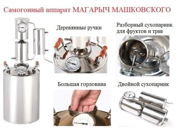 самогонный аппарат Машковского