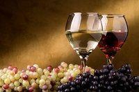 Безалкогольное вино и виноград