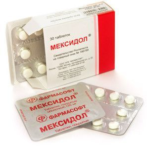 Мексидол при лечении алкоголизма