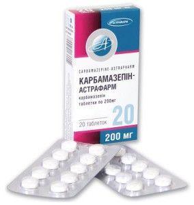 carbamazepină