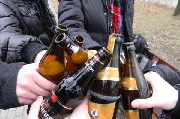 Наказание за распитие спиртных напитков в общественных местах