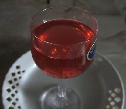фото наливки из малинового варнья без водки