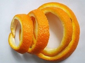Настойка на основе апельсиновых корок