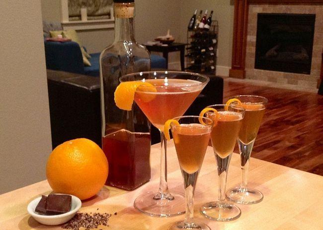Настойка спирта на апельсиновых корках