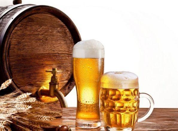 Пиво из бочонка