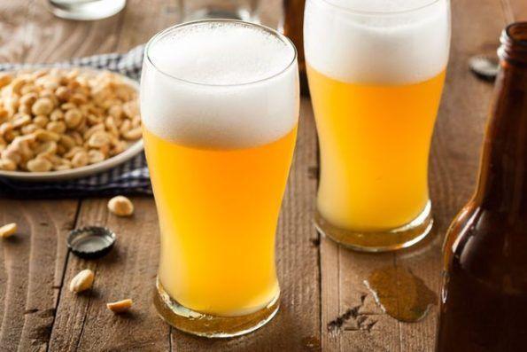 Домашнее пиво в бокалах
