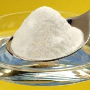 очистка самогона содой из ложки