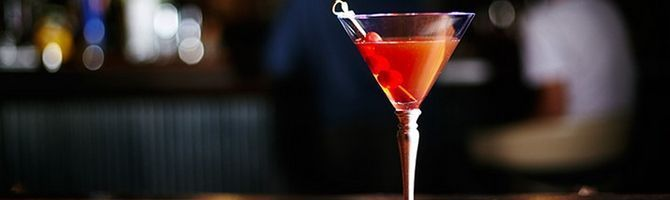 Оригинальный коктейль манхеттен