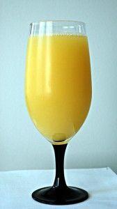 коктейль с соком апельсина