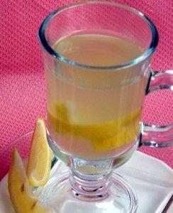 напиток из ревеня с лимоном