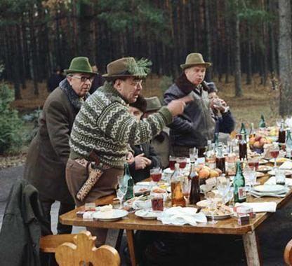 Популярная настойка охотничья на водке