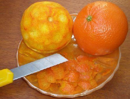 мандариновая цедра для настойки