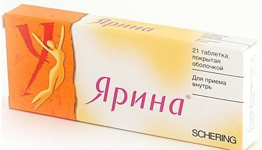 Противозачаточный препарат ярина и алкоголь