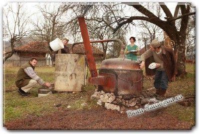 Ракия или сливовица - рецепт изготовления
