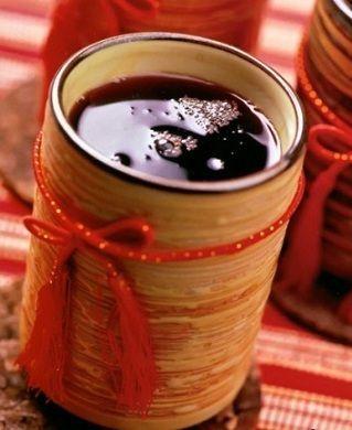 горячая ракия с вином