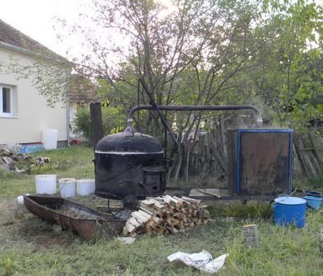 процесс приготовления ракии