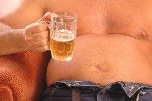 Растет ли от пива живот?