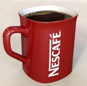 кофе в кружке nescafe
