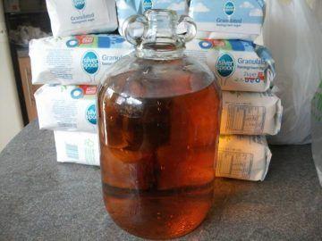 Рецепт браги для питья из варенья или сахара