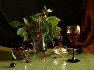 вино из красной черемухи