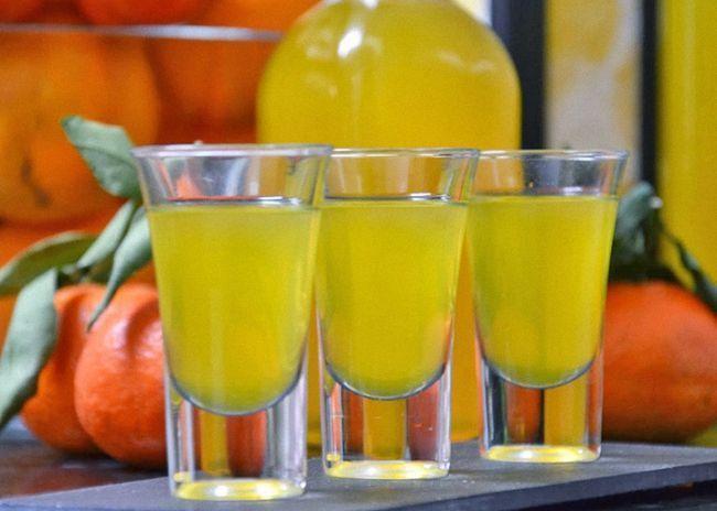 Рецепт домашнего вина из мандарин