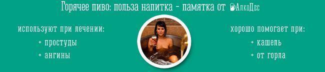 горячее пиво: рецепт