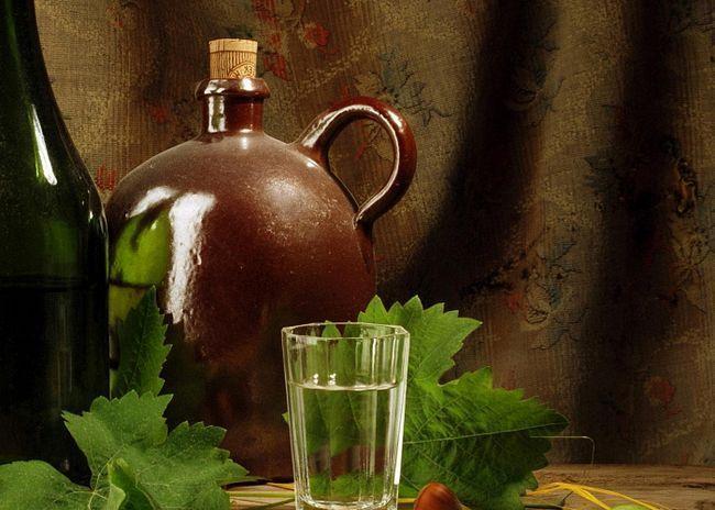 Рецепт, как делать чачу из винограда «изабелла»