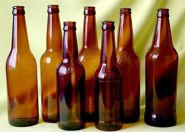 Tamne staklene boce za čuvanje Chachi