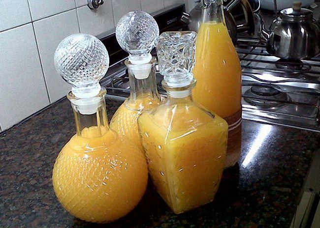 Рецепт ликера из мандаринов в домашних условиях