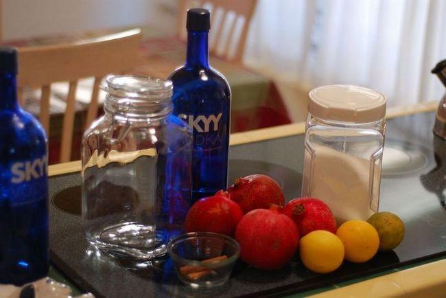 Рецепт настойки на гранате