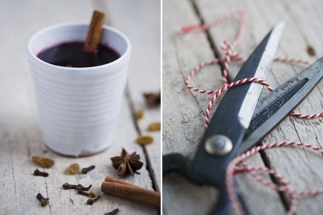 Готовый глёг - северный глинтвейн на основе вина и крепкого алкоголя.