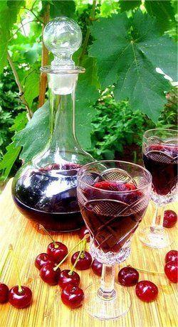 Рецепт вишневой наливки в домашних условиях
