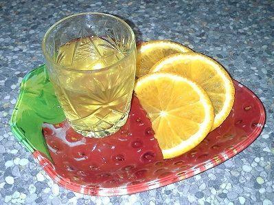 водка на апельсиновых корках