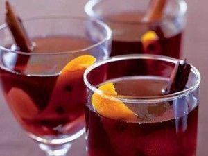 Рецепты безалкогольного глинтвейна