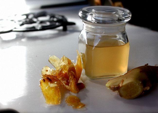 Настойка корня имбиря на водке с медом