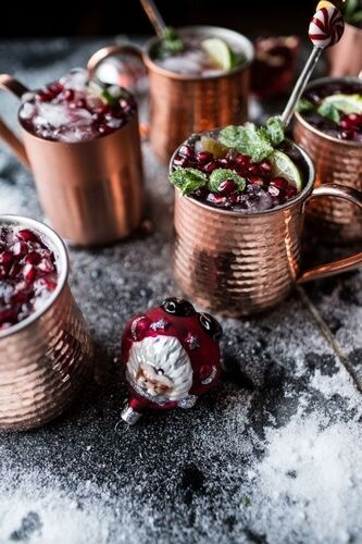 Рецепты коктейлей с гранатом, которые украсят новогоднее застолье