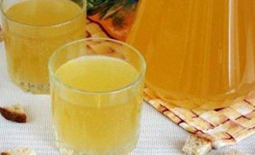 Приготовление кваса из березового сока