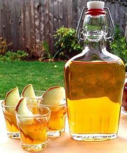 Рецепты наливки из яблок