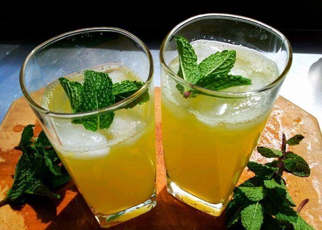 Водка на лимоне с имбирем