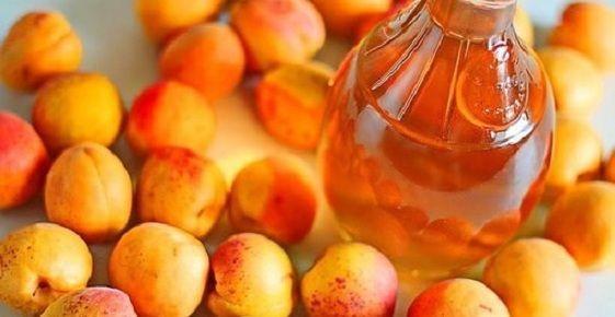 фото настойки из абрикосов на спирту